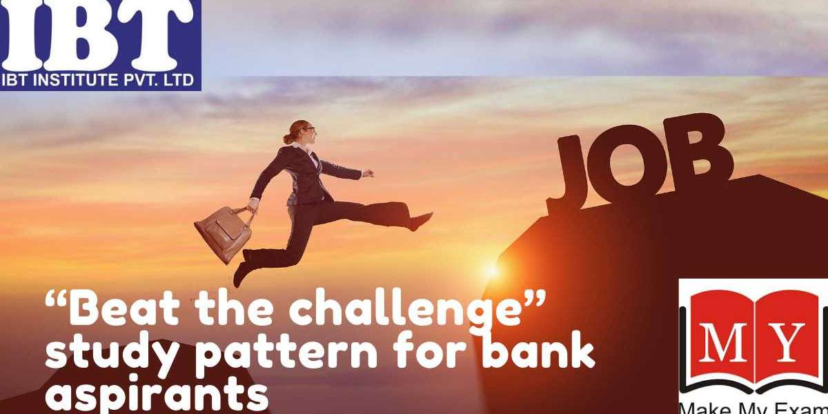 """""""Beat the challenge"""" study pattern for bank aspirants"""